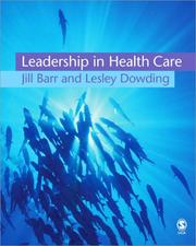 Cover of: Leadership in health care