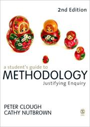 Cover of: A Student's Guide to Methodology