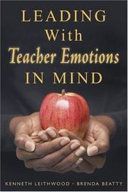 Cover of: Leading with teacher emotions in mind