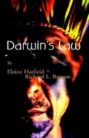Cover of: Darwin's Law