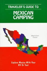 Cover of: Traveler's Guide to Mexican Camping