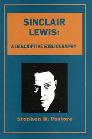 Cover of: Sinclair Lewis