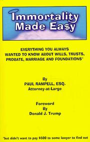 Cover of: Immortality Made Easy