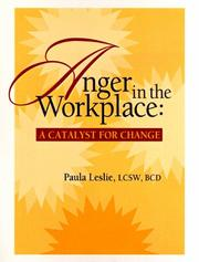 Cover of: Anger in the Workplace