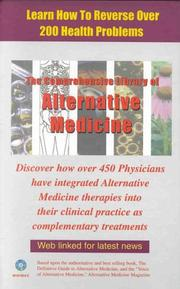 Cover of: The Comprehensive Library of Alternative Medicine (CD-ROM for Windows & Macintosh)