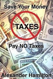 Cover of: Pay No Taxes