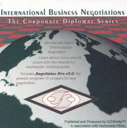 Cover of: International Business Negotiations