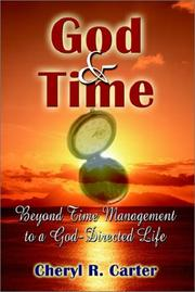 Cover of: God and Time