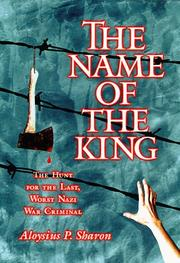 Cover of: The Name of the King