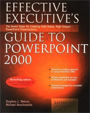 Cover of: Effective Executive's Guide to PowerPoint 2000