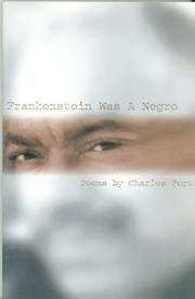 Cover of: Frankenstein Was A Negro