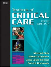 Cover of: Textbook of Critical Care e-dition