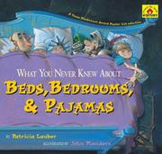 Cover of: What You Never Knew About Beds, Bedrooms, & Pajamas (Around-the-House History)