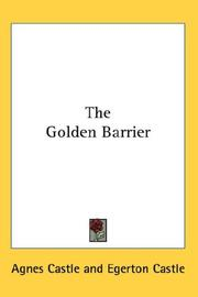 Cover of: The Golden Barrier