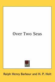 Cover of: Over Two Seas
