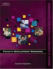 Cover of: Faculty Development Companion Workbook Module 13: