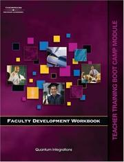 Cover of: Faculty Development Workbook Bootcamp Module (Faculty Development Workbook)