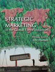 Cover of: Strategic Marketing in the Global Forest Industries