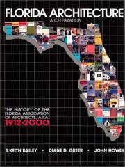 Cover of: Florida Architecture