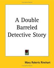 Cover of: A Double Barreled Detective Story
