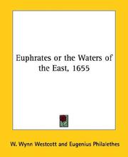 Cover of: Euphrates or the Waters of the East, 1655