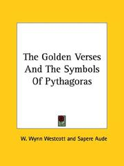 Cover of: The Golden Verses and the Symbols of Pythagoras