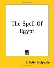 Cover of: The Spell of Egypt