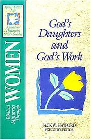 Cover of: Biblical ministries through women