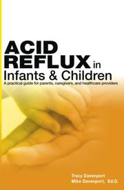 Cover of: Acid Reflux in Infants and Children