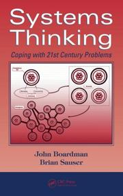 Cover of: Systems Thinking