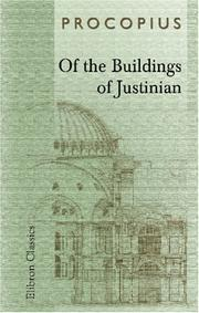 Cover of: Of the Buildings of Justinian