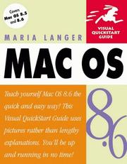 Cover of: Mac OS 8.6