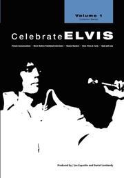 Cover of: Celebrate Elvis - Volume 1