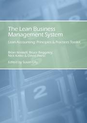 Cover of: The Lean Business Management System; Lean Accounting Principles & Practices Toolkit