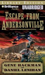 Cover of: Escape from Andersonville