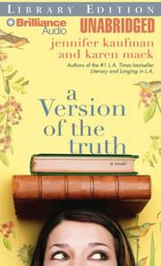 Cover of: Version of the Truth, A