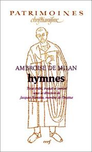 Cover of: Hymnes