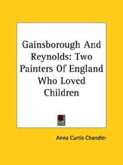 Cover of: Gainsborough And Reynolds