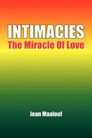 Cover of: Intimacies