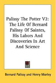 Cover of: Palissy The Potter V2