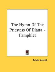Cover of: The Hymn Of The Priestess Of Diana - Pamphlet