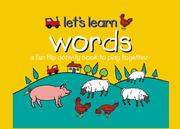 Cover of: Let's Learn Words