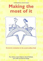 Cover of: Making the Most of It (Contemporary Research Issues)