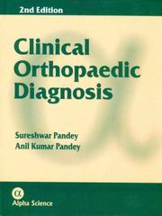 Cover of: Clinical Orthopaedic Diagnosis