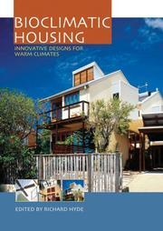 Cover of: Bioclimatic Housing
