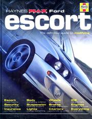 "Cover of: Ford Escort (Haynes ""Max Power"" Modifying Manuals)"