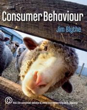 Cover of: Consumer Behaviour