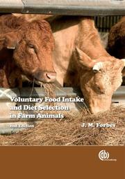 Cover of: Voluntary Food Intake and Diet