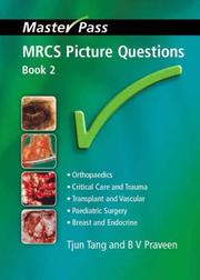 Cover of: MRCS Picture Questions (Masterpass)