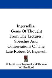Cover of: Ingersollia